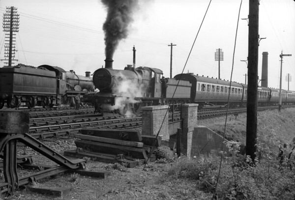 Locomotive failure at Southcote