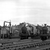 A slightly wider view of the west end of the shed taken on 1 October 1957.
