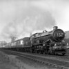6013 King Henry VIII heads the 5.30pm ex-Paddington towards Southcote Junction on 20 April 1953<br /> Photograph taken on Adams Reflex using glass plate
