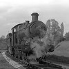 In May 1956, a Collett goods 0-6-0 number 2253 waits at the entry to the branch to Coley Central Goods with the main line in the background.