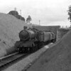 This is another of the few photographs from our Devon holidays.  4940 Ludford Hall heads a down local train at an unidentified location between Paignton and Kingswear in summer 1958.