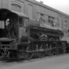 Hall Class 4993 Dalton Hall outside Swindon Works in April 1956.