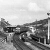 The RSMEE chartered DMU waits for its passengers during a brief stop at Marlborough MSWJR during a rail tour.  I have provisionally dated this event to 1960 but would be grateful for further information.