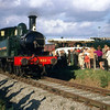 1466 stands by the other exhibits at the Wallingford end of the branch during the Great Western Society Open Day on 21 September 1968.