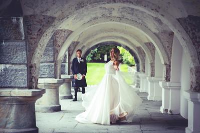 Vi hadde den store gleden av å forevige Ingrid og Pål Kristian sine vakre bryllupsminner. Et vakkert par som var utrolig kjekt å bli kjent med.