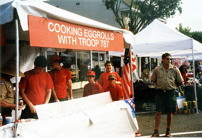 2004/8/15 - San Clemente fundraising