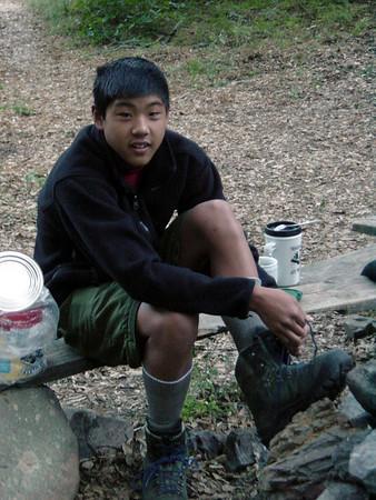 5/15/2004 - Santiago Peak Backpack Training Hike
