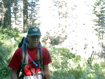 7/31/2004 - Shake down training hike @ San Gorgonio