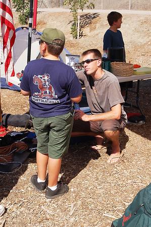 9/15/2007 - Cub Scout Recruting Event