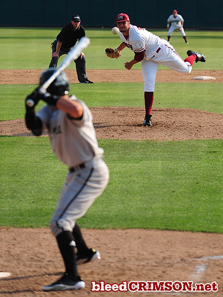 Ryan Beck (36) delivers a pitch<br /> <br /> Photo Credit: Sam Wasson