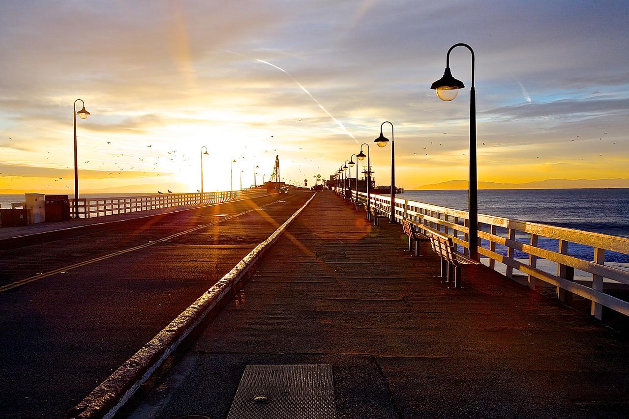 Municipal Wharf, Santa Cruz, California
