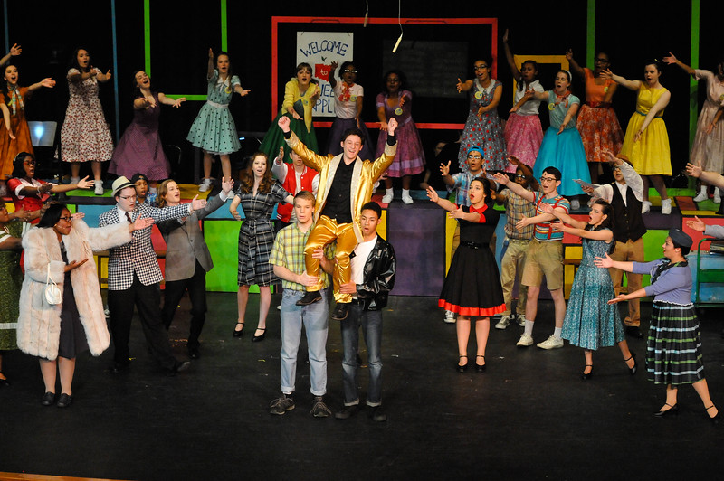 "Bryan Station High School Theatre presents ""Bye, Bye Birdie,"" April 21 to 23, 2016."