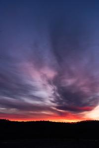 sunrise, Guilford, VT