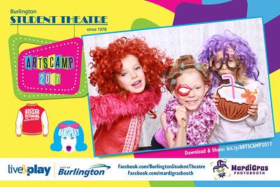 Photo Strips from Burlington Student Theatre - ArtsCamp 2017