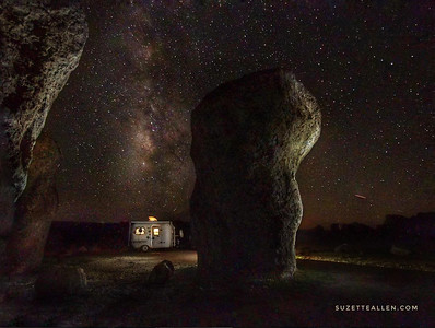 BT under the Milky Way