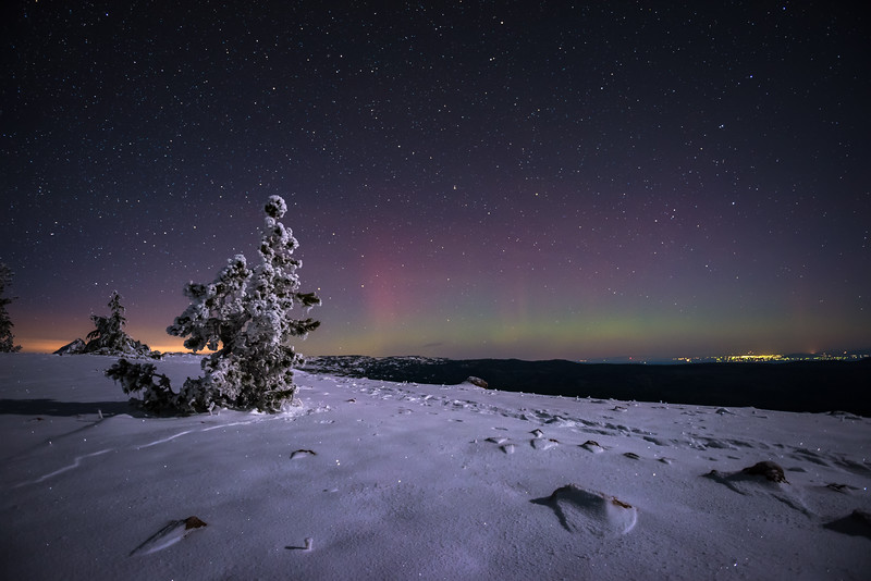 BTP: Aurora Over Central Oregon