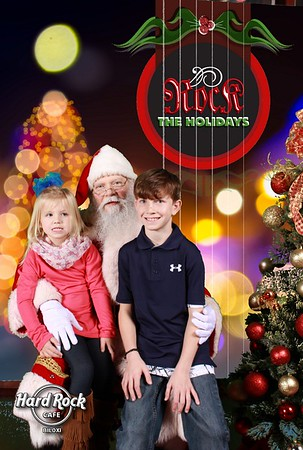 Hard Rock Cafe - Santa