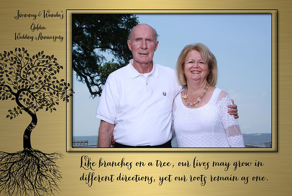 Jimmy & Wanda's Golden Wedding Anniversary