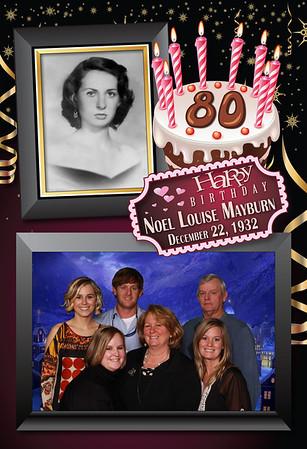 Noel Louis Mayburn's 80th Birthday Party