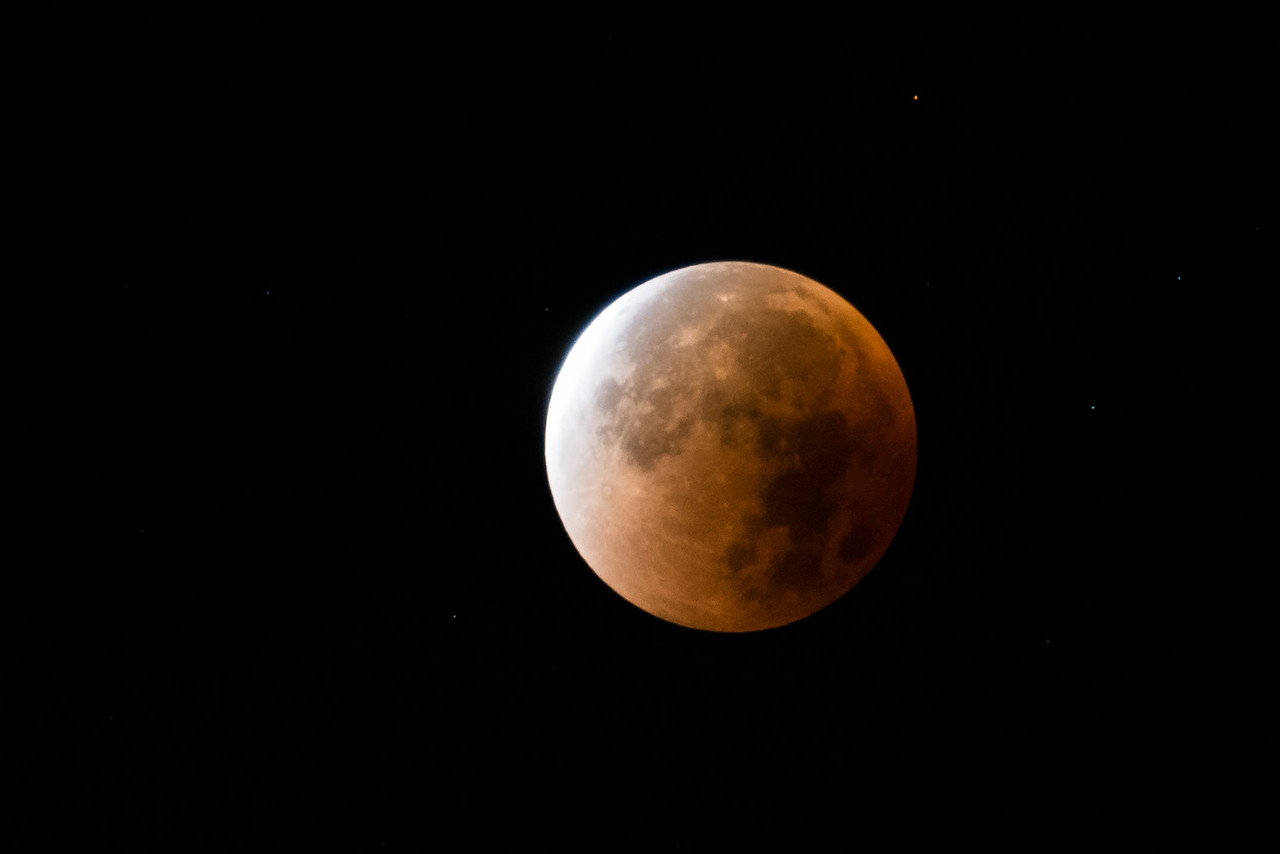 Blood Super Moon Eclipse