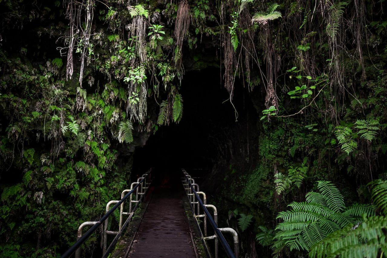 Lava Tube, Volcanoes National Park