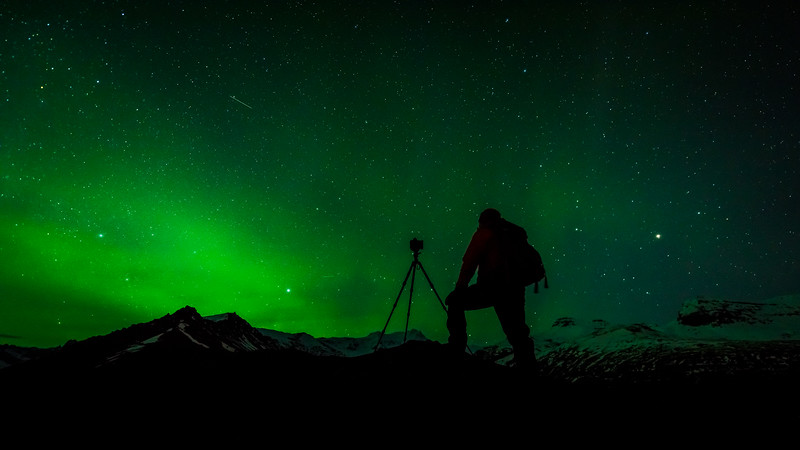 Photographing the Aurora - Closeup