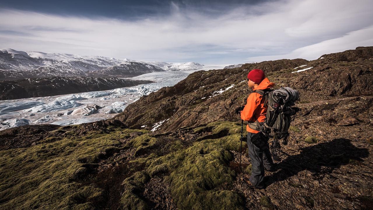 Hoffellsjökull from Above