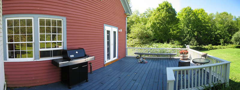 45 Pan SW of Back Deck