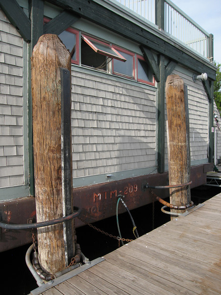 12 South End of Boathouse Detail