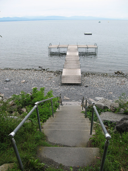 06 Stairs to Beach and Dock