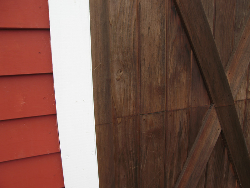 40 Barn Door Detail