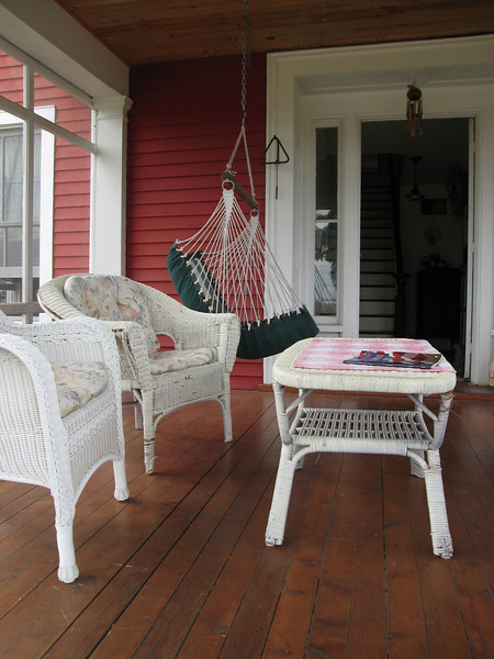 12 Screened Porch Detail