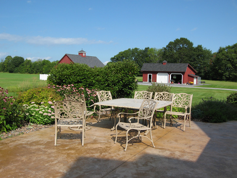 30 Patio Furniture and Barns