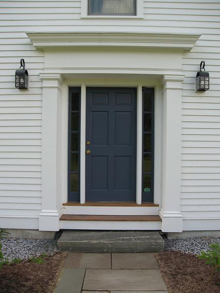 11 Formal Door on East Facade