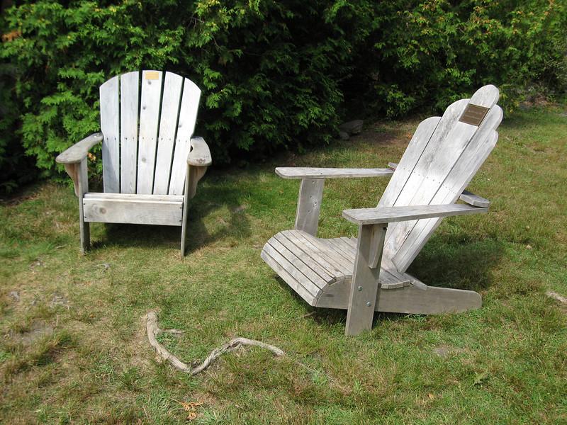 21 Adirondack Chairs