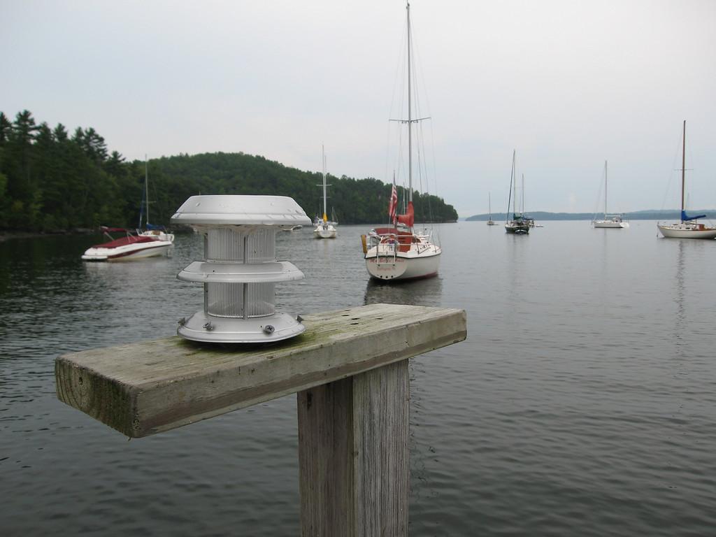 51 Dock Lamp Detail