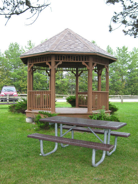 62 Gazebo and Picnic Table Looking East