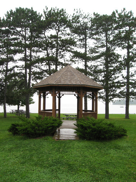 58 LS Gazebo Looking West