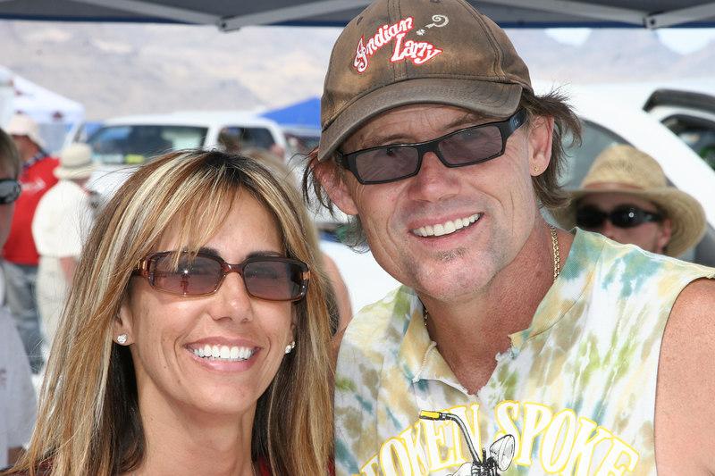 Valerie Thompson of VTRacegirl.com and Jay Allen of the Broken Spoke Saloon