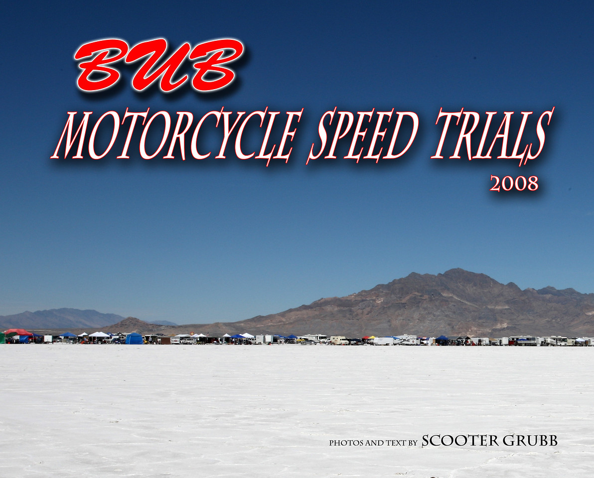 "The cover of this years BUB event coffee table book on the Bonneville Salt Flats. The book can be found at <a href=""http://www.blurb.com/my/store/public"">http://www.blurb.com/my/store/public</a> in the Blurb Bookstore."