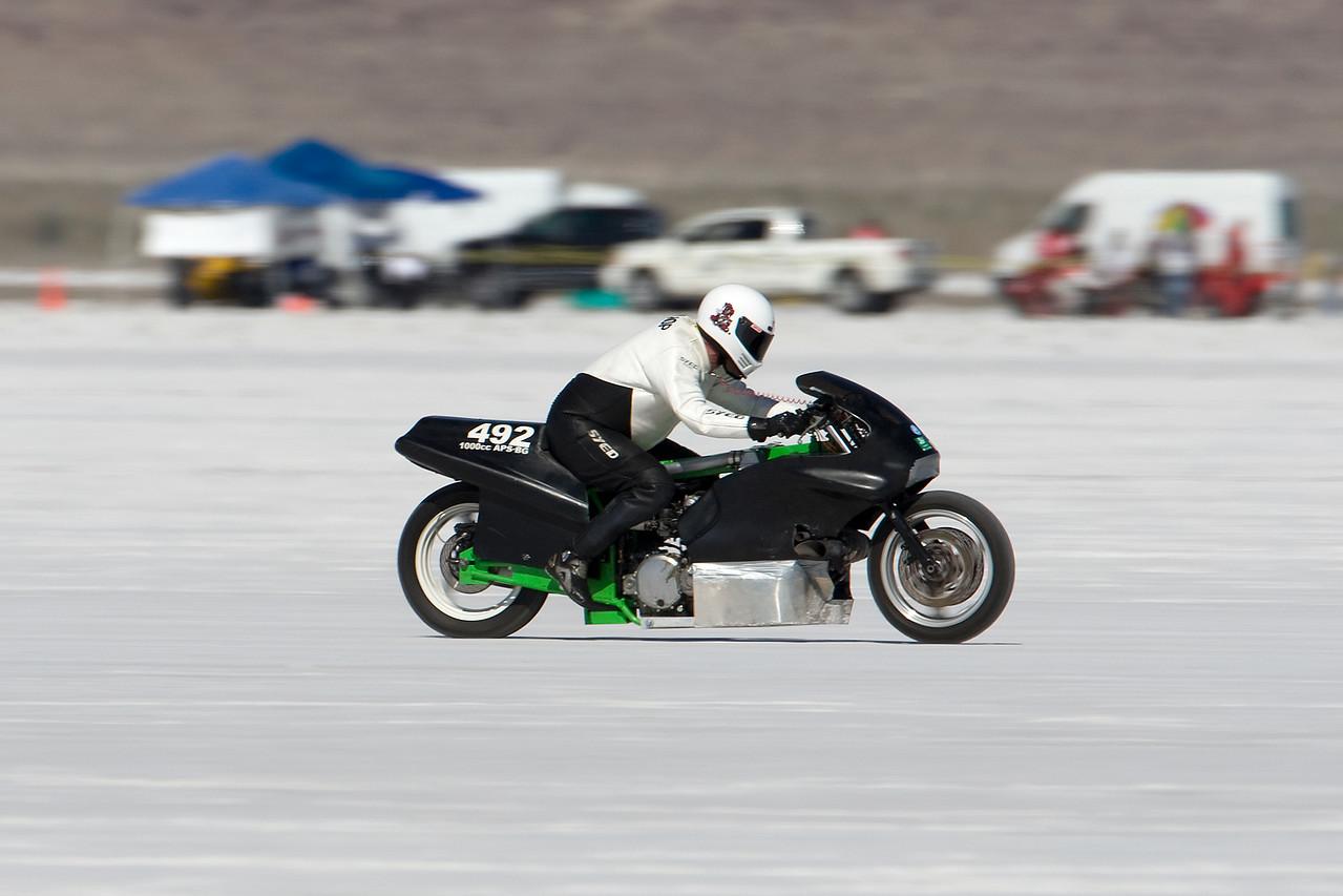 Greg Etts - Dead Jesters Racing, Mesa, Az - 1973 Custom Kawasaki