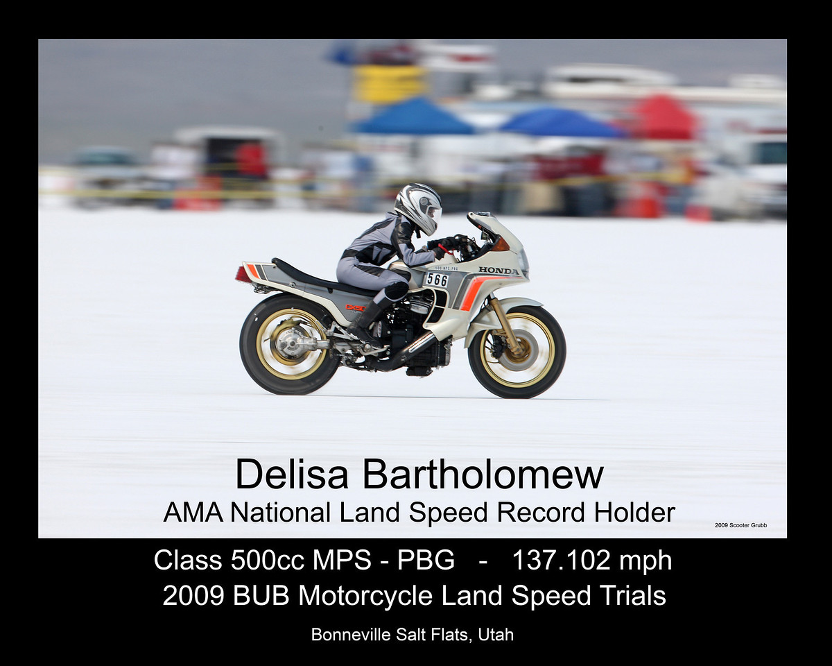 If you find an image in this gallery and would like it to look like Delisa's with your name, record, speed etc. send me an email and let me know what you want and we will fix you up.<br /> Email me at scootershoots@cox.net