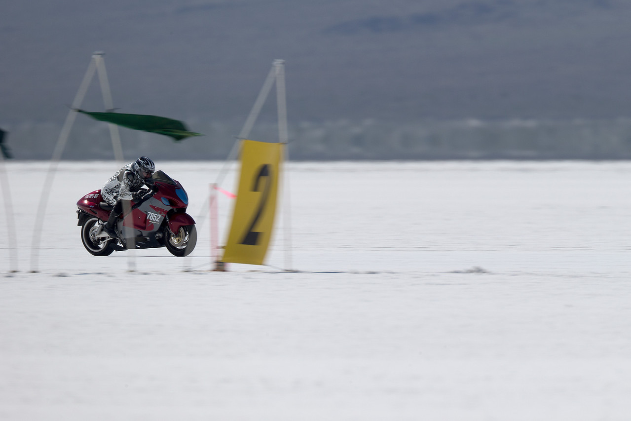 2013 BUB Motorcycle Land Speed Trials