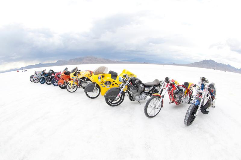 2013 BUB Motorcycle Land Speed Trials