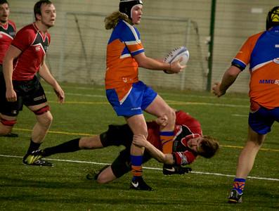 Rugby Union by Chloe Hudson at Platt Lane
