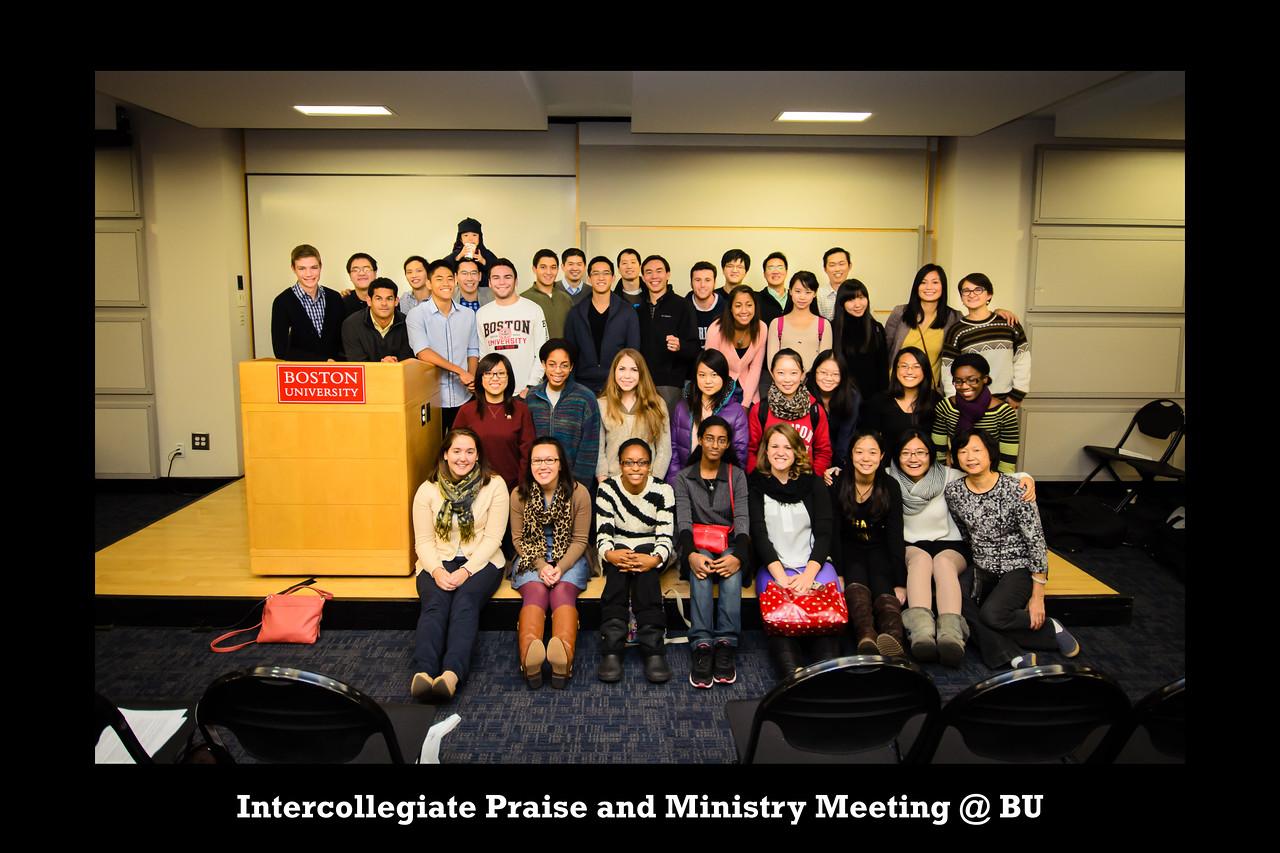 Intercollegiate Praise and Ministry Meeting @ BU Normal