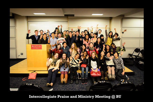 Intercollegiate Praise and Ministry Meeting @ BU Silly