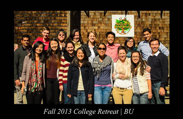 BU 2013 Fall College Retreat