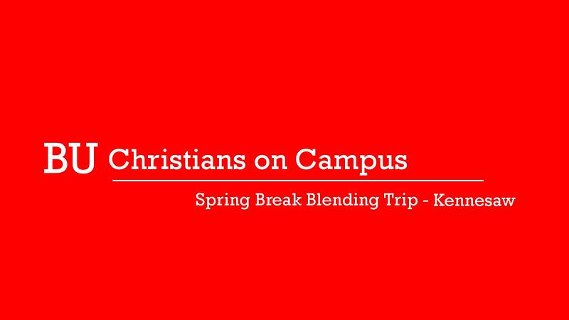 Spring Break Blending Trip - Kennesaw Cover 2