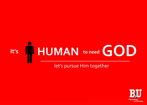 It's Human to Need God 1 0